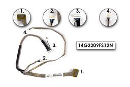 Asus F9E, F9F, F9J laptophoz használt LCD kábel, 14G2209FS12N