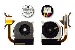 Asus F9F laptophoz gyári új komplett hűtőegység (13GNER1AM040-1)
