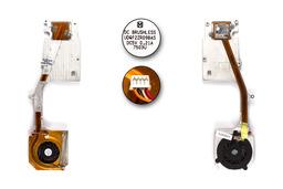 ASUS G1S  laptophoz használt komplett hűtő ventilátor egység (13GNLB1AM020-1, UDQF2ZR09BAS)