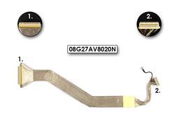 Asus G2P, G2S laptophoz használt Kijelző kábel(17.1inch)(08G27AV8020N)