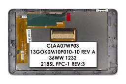 LCD kijelző modul kerettel Asus Google Nexus 7 tablethez (13GOK0M10P010-10 REV A)