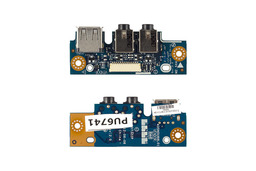 Asus K43BE, K53BE laptophoz gyári új USB - Audio panel, 90-RNMIUS1000C