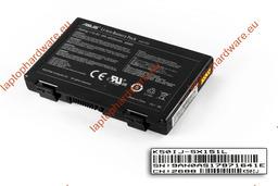 Asus K50 K50IJ laptop akkumulátor, használt, 6 cellás (4400-4500mAh)