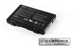 Asus K50AB, K50C, K50IJ használt gyári 6 cellás 75%-os laptop akku/akkumulátor (A32-F82)