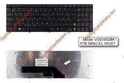 Asus K50, K51, K60, K61, K70 gyári használt magyar laptop billentyűzet (04GNV91KHU00-2)