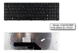 Asus K50 K50IJ fekete magyar laptop billentyűzet