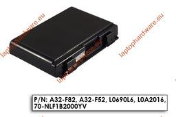 Asus K50AB, K50C, K50IJ használt, helyettesítő 6 cellás 80%-os laptop akku/akkumulátor (A32-F82)