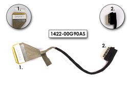 Asus K50IJ, K60 laptophoz használt Kijelző kábel (1422-00G90AS)
