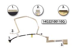 Asus K52DY, K52F, K52N laptop gyári új LED LCD kábel, 14G22100110Q, 14G22100110V