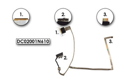 Asus K53BE, K53T, A53U laptophoz használt LCD kábel, DC02001AV10