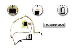 Asus K53BR, K53TA, K53U laptophoz gyári új LCD kábel, 14G221045000