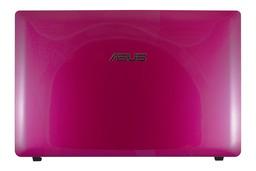 Asus K53E, K53SC, laptophoz gyári új rózsaszín LCD kijelző hátlap WiFi antennával, 13GN3C8AP010-2