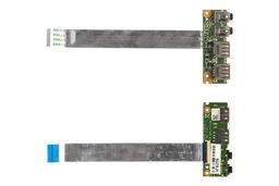 Asus K53E, K53SD laptophoz használt USB, Audio panel kábellel, 60-N3EIO1000-H01