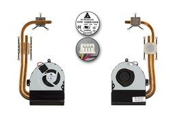 Asus K53SC, K53SJ, K5SM használt komplett laptop hűtőegység (13GN3G1AM010-2)