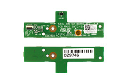 Asus K54L, K54C laptophoz használt bekapcsoló panel, 69N0LJC10C01-01