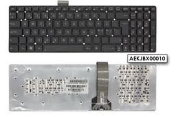 Asus K55A, K55VD, K55VM gyári új norvég fekete keret nélküli laptop billentyűzet (Win7) (0KNB0-6121ND00)