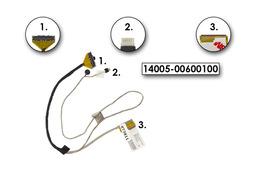 Asus K56CA, K56CM, K56CB gyári új laptop LCD kábel, 14005-00600100, 14005-00600000