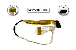 Asus K61IC laptophoz használt LCD kábel, 14G22000100Q