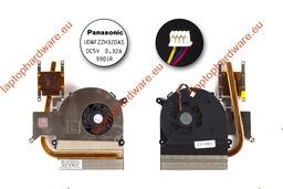 Asus K40AB, K50AB, K50AF gyári új komplett laptop hűtő ventilátor egység (13GNVX1AM010-1)