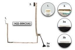 Asus K72F, K72DR, K72JK gyári új laptop LCD kábel (14G140305000, 1422-00NC0AS)