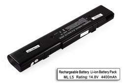 Asus L5800C, L5C, L5G helyettesítő új 8 cellás laptop akku/akkumulátor (A42-L5)