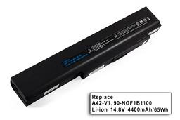 Asus Lamborghini VX2, V1, A42-V1 8 cellás helyettesítő új laptop akkumulátor