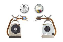 Asus M50SA, M50SR, M50SV, X55SV laptophoz gyári új komplett hűtő ventilátor egység, 13GNED1AM040-1