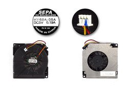 Asus M6, M6800N használt laptop hűtő ventilátor (HY60A-05A)