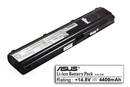 Asus M6000, M6700, M6800, A42-M6 8 cellás 75%-os használt laptop akkumulátor