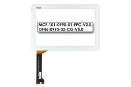 Érintő panel, touchscreen (fehér) Asus MeMO Pad 10 (ME102A) tablethez (OF46-0990-02-CG-V5.0)