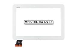 Érintő panel, touchscreen (fehér) Asus MeMO Pad 10 (ME103K), Transformer Pad TF103C (K010) tablethez (MCF-101-1521-V1.0)
