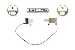 Asus N53DA, N53J, N53S, N53TA laptophoz gyári új LCD kábel (14G22101620V)