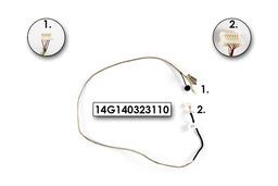 Asus N53J, N53S sorozatú laptophoz használt webkamera kábel mikrofonnal, 14G140323110