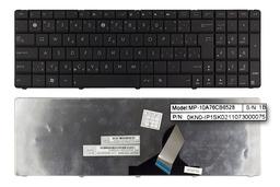Asus N53SV, N53SM, N73JN Wave használt szlovák szürke laptop billentyűzet (04GNZX1KSK00-2)
