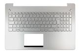 Asus N550 gyári új magyar háttér-világításos laptop billentyűzet modul, 90NB00K1-R31HU0
