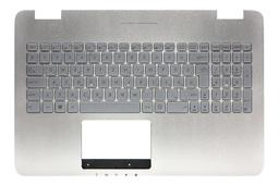 Asus N551JK, N551JW (G551JW) gyári új háttér-világításos magyar ezüst laptop billentyűzet modul (90NB05T1-R31HU0)