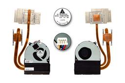Asus N55SF, N55SL használt komplett laptop hűtőegység (13GN5F1AM010-1)