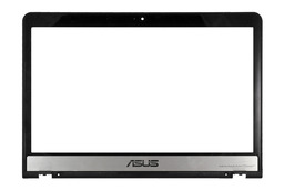 Asus N55SF, N55SL laptophoz  használt LCD keret, 13GN5F3AP010-1