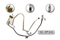 Asus N61 sorozatú laptophoz gyári új LCD kábel mikrofonnal, 14G22100500Q