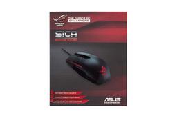Asus ROG Sica szürke-fekete 5000 DPI-s gaming USB  egér (90MP00B1-B0UA00)