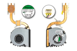 Asus S551LA, S551LB, K551LB használt laptop komplett hűtés (13NB02A1AM0101, EF50060S1-C180-S9A)