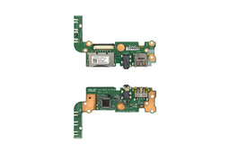 Asus S551LA, S551LB, K551LB használt laptop USB/Audio/SD kártyaolvasó modul (60NB02A0-US1030, 37XJ9UB0000)