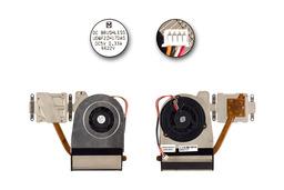 Asus S96F laptophoz használt komplett hűtőegység (13GNI81AM010-1)