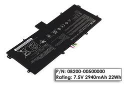 Asus TF501T, TF700T gyári új 2 cellás laptop dokkoló akku/akkumulátor (0B200-00500000)