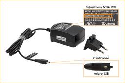 Asus Transformer Book T100TA 5V 3A 15W gyári új laptop töltő (0A001-00480100)