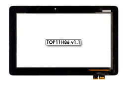 Érintő panel, touchscreen Asus Transformer Book T200TA tablethez (TOP11H86 v1.1)