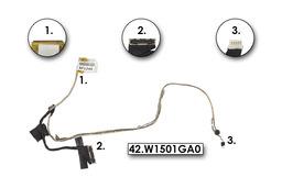Asus U46, U46E laptophoz használt LCD kábel, mikrofonnal (42.W1501GA0)