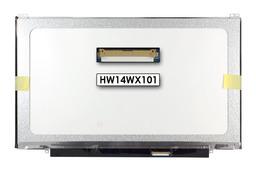 Asus U46, U47 használt érték csökkent B kategórás fényes 14 inch HD LED laptop kijelző, HW14WX101
