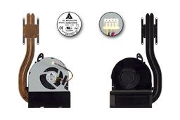 Asus U46E használt komplett laptop hűtő ventilátor, thermal module, 13GN5M1AM030-1