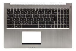Asus U500VZ, UX51VZ gyári új magyar háttér-világításos laptop billentyűzet (0KNB0-6624HU00)